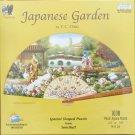 SunsOut JAPANESE GARDEN 1000 pc New Fan Shaped Jigsaw Puzzle T C Chiu