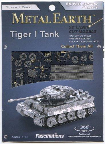 Metal Earth TIGER I TANK WWII German Tank New 3D Puzzle Micro Model