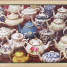 Cobble Hill TEAPOTS 1000 pc New Jigsaw Puzzle