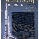 Metal Earth BURJ KHALIFIA DUBAI New 3D Puzzle Micro Model