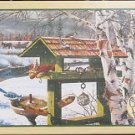 Cobble Hill Ken Zylla BACKYARD BANQUET 1000 pc New Jigsaw Puzzle Bird Feeder