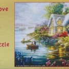 SunsOut COTTAGE COVE 300 pc New Jigsaw Puzzle Nicky Boehme