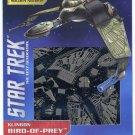 Metal Earth Star Trek Next Gen KLINGON BIRD OF PREY New 3D Puzzle Micro Model