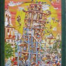 D Toys BUILDING THE TOWER OF PISA 1000 pc New Jigsaw Puzzle