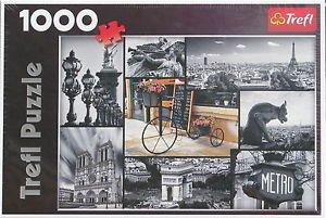 Trefl PARIS COLLAGE 1000 pc New Jigsaw Puzzle
