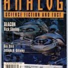 ANALOG SF Magazine January 1998 Ben Bova Joseph H Delaney Paul Levinson