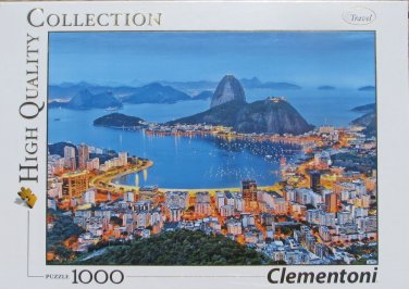Clemontoni RIO DE JANEIRO BRAZIL 1000 pc New Jigsaw Puzzle 8005125392582