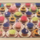 Cobble Hill CUPCAKES AND SAUCERS New 1000 pc Jigsaw Puzzle
