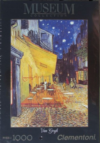D Toys Vincent Van Gogh CAF� TERRACE AT NIGHT New 1000 pc Jigsaw Puzzle Post Impressionism