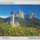 Clemontoni CHURCH ST VELENTEN SOUTH TIROL New 1500 pc Jigsaw Puzzle