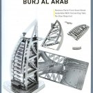 Metal Earth Iconx BURJ AL ARAB HOTEL DUBAI New 3D Puzzle Mini Model