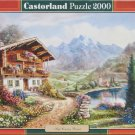 HIGH COUNTRY RETREAT 2000 pc New Jigsaw Puzzle Castorland