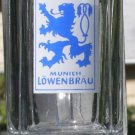 LOWENBRAU Glass Beer Mug 10 oz German Made