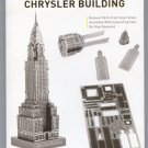 Metal Earth Iconx CHRYSLER BUILDING New 3D Puzzle Micro Model