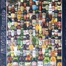 Educa BEERS 1000 pc Jigsaw Puzzle New Beer Bottles