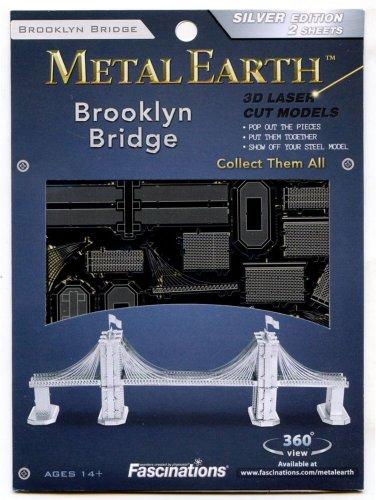 Metal Earth BROOKLYN BRIDGE New 3D Puzzle Micro Model