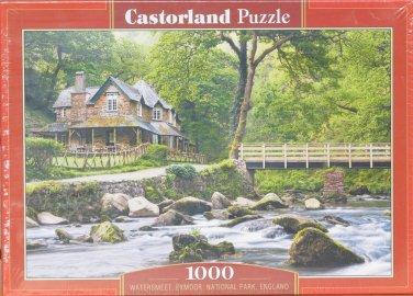WATERSMEET EXMOOR NATIONAL PARK ENGLAND 1000 pc New Jigsaw Puzzle Castorland