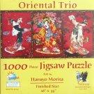 SunsOut ORIENTAL TRIO 1000 pc Panorama Jigsaw Puzzle Geishas