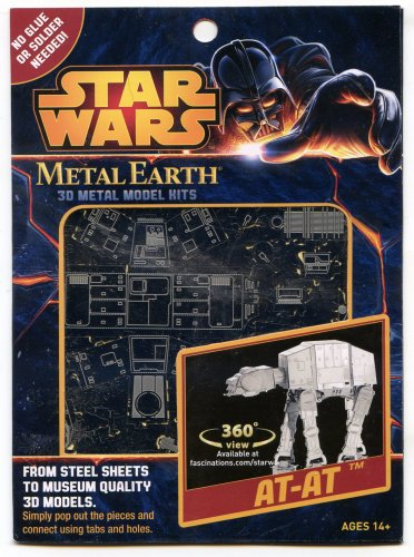 Metal Earth Star Wars AT-AT New 3D Puzzle MIcro Model