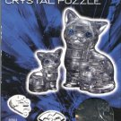 Bepuzzled BLACK CAT & KITTEN New 3D Crystal Jigsaw Puzzle 49 pc