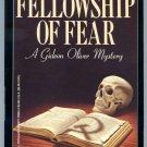 Aaron Elkins FELLOWSHIP OF FEAR Gideon Oliver 1