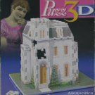 Puzz 3D ALEXANDRA VICTORIAN HOUSE Used 215 pc 3D Jigsaw Puzzle
