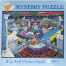 Bits and Pieces MYSTERY PUZZLE Used 1000 pc Jigsaw Puzzle