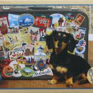 Cobble Hill DACHSHUND ROUND THE WORLD 500 pc Jigsaw Puzzle