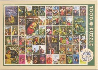 Cobble Hill NANCY DREW MYSTERIES Books 1-56 1000 pc Jigsaw Puzzle