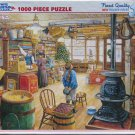 White Mountain OLDE GENERAL STORE Used 1000 pc Jigsaw Puzzle XL Pieces