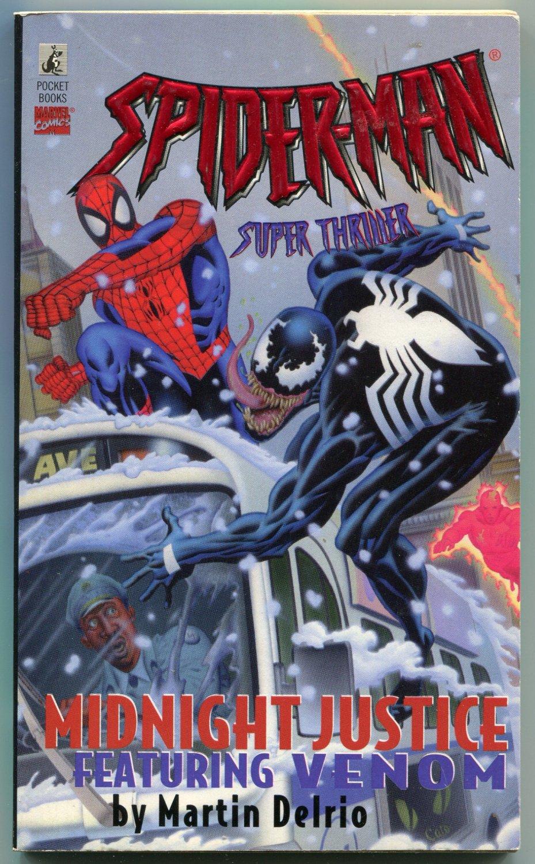 Spider-Man MIDNIGHT JUSTICE featuring Venom Martin Delrio First Printing