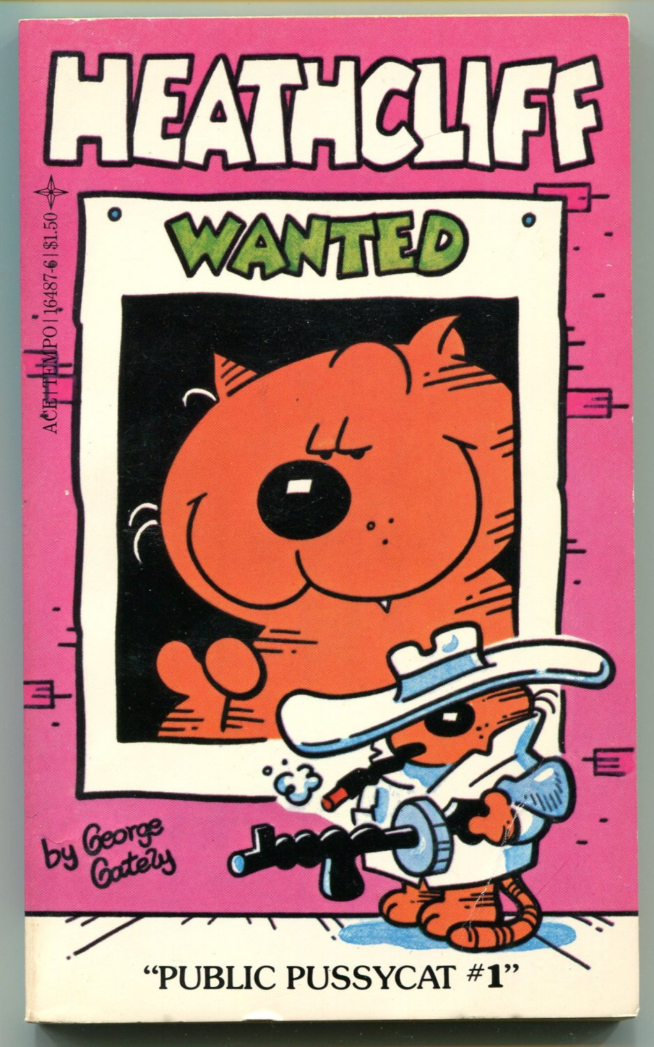 Heathcliff PUBLIC PUSSY CAT #1 George Gately First Printing