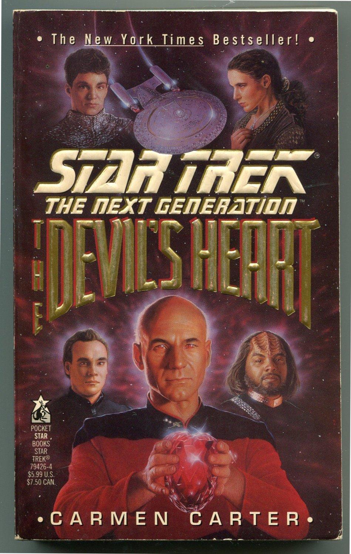 Star Trek TNG THE DEVIL�S HEART Carmen Carter First Printing