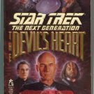 Star Trek TNG THE DEVIL'S HEART Carmen Carter First Printing