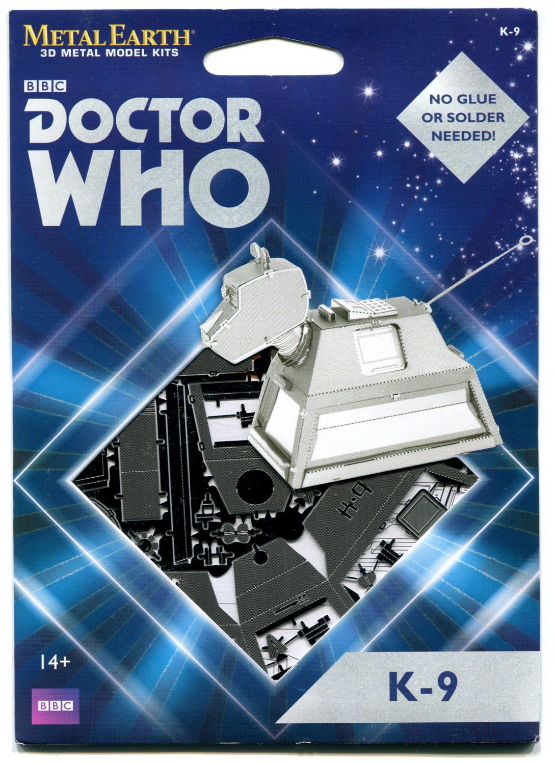 Metal Earth Dr Who K-9 3D Puzzle Micro Model