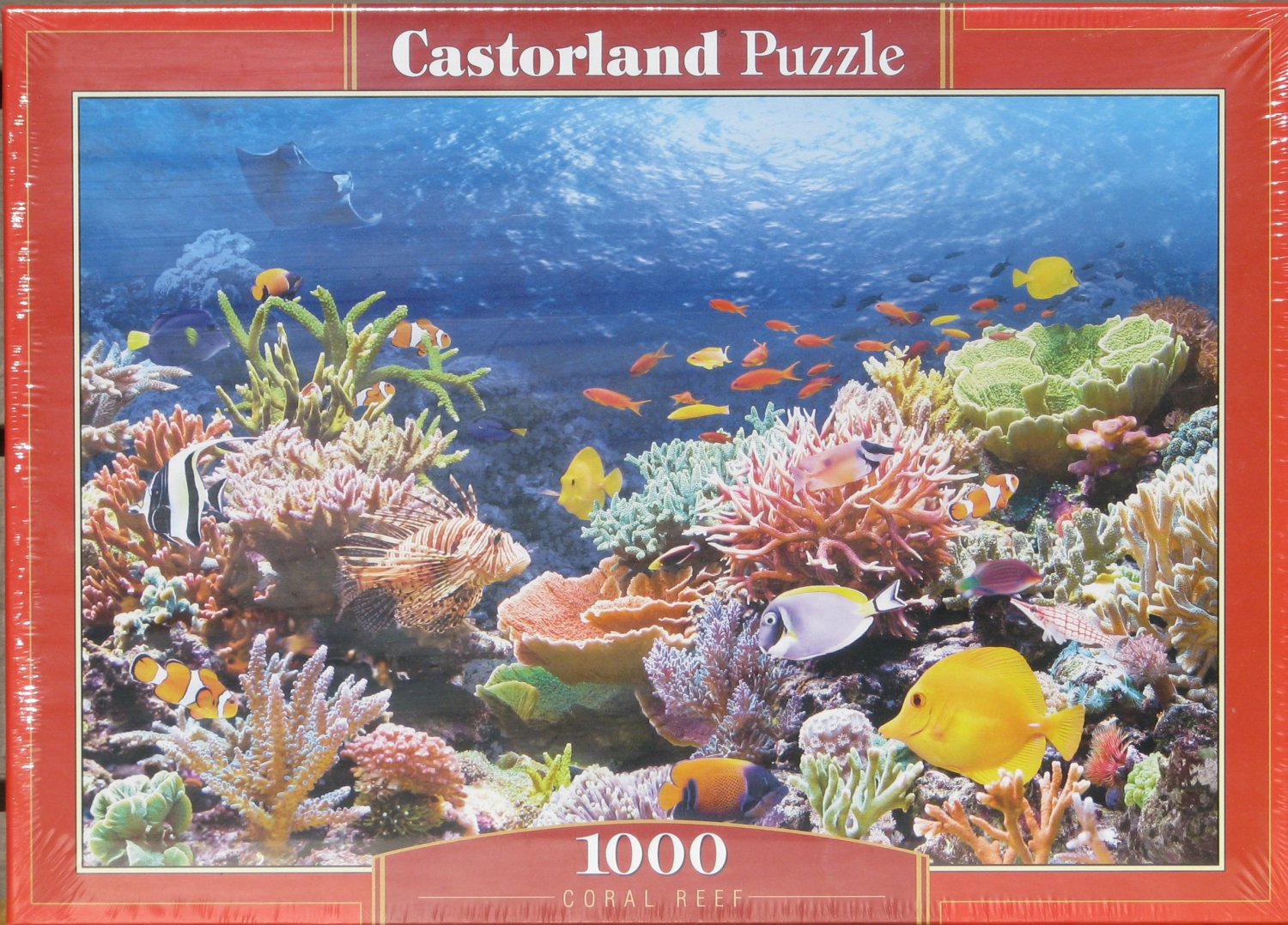 Castorland CORAL REEF 1000 pc Jigsaw Puzzle