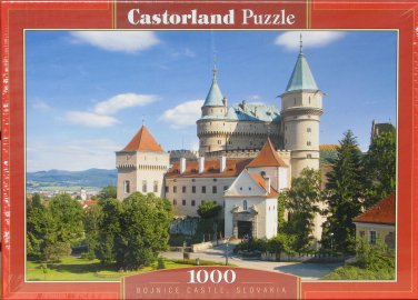 Castorland BOJNICE CASTLE SLOVAKIA 1000 pc Jigsaw Puzzle