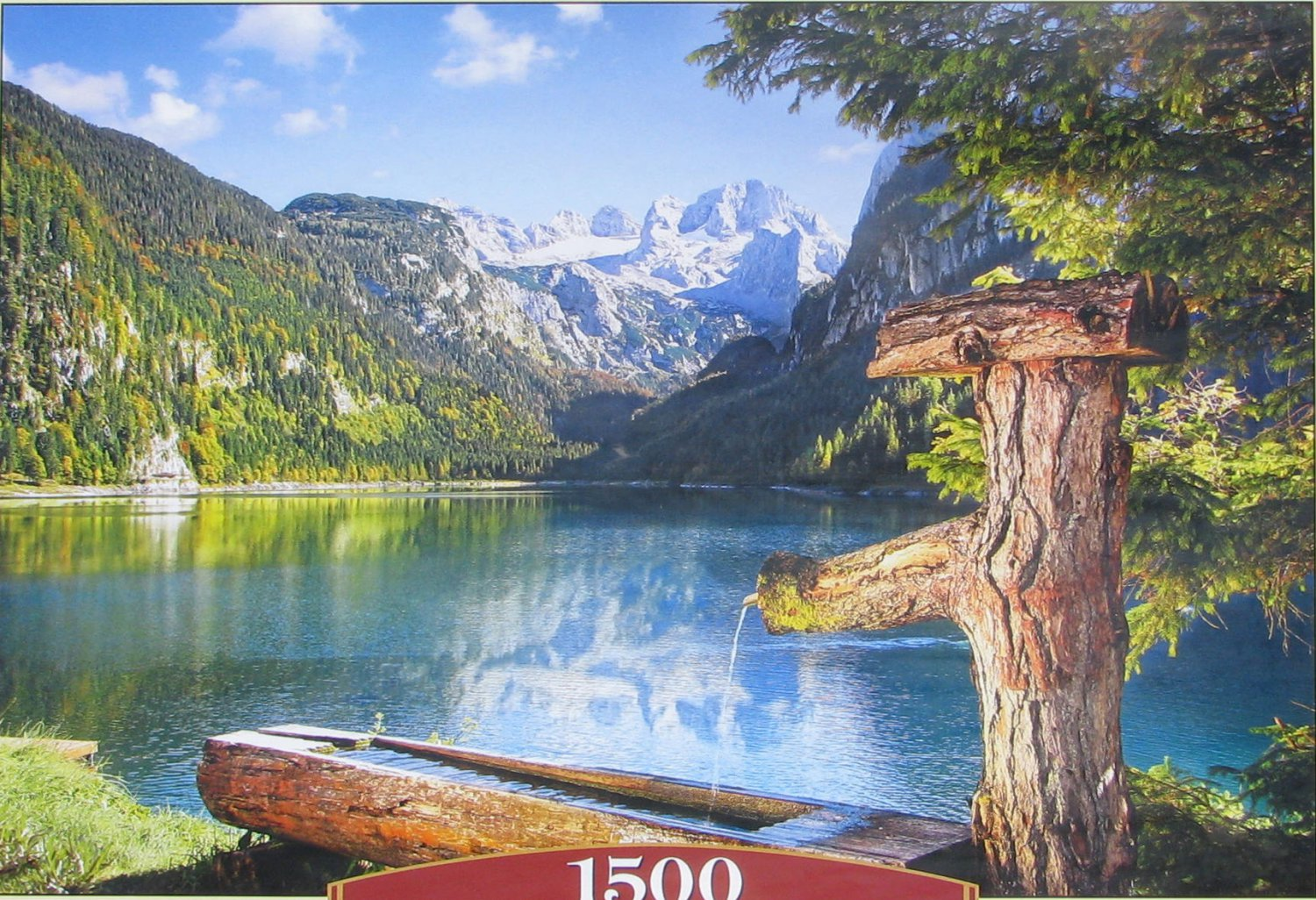 Castorland GOAUSEE GERMANY 1500 pc Jigsaw Puzzle