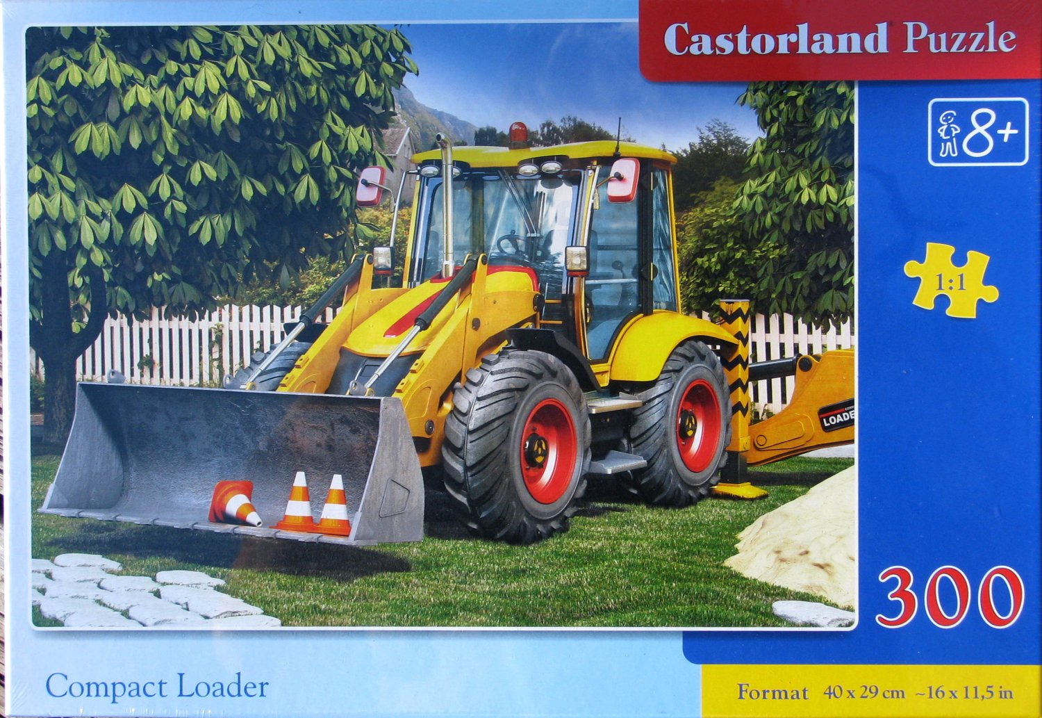 Castorland COMPACT LOADER 300 pc Jigsaw Puzzle Construction