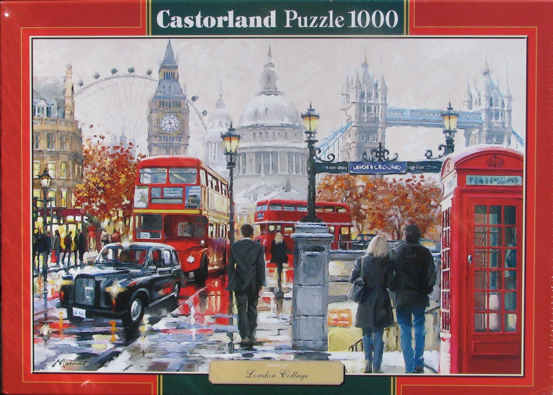 Castorland LONDON COLLAGE 1000 pc Jigsaw Puzzle