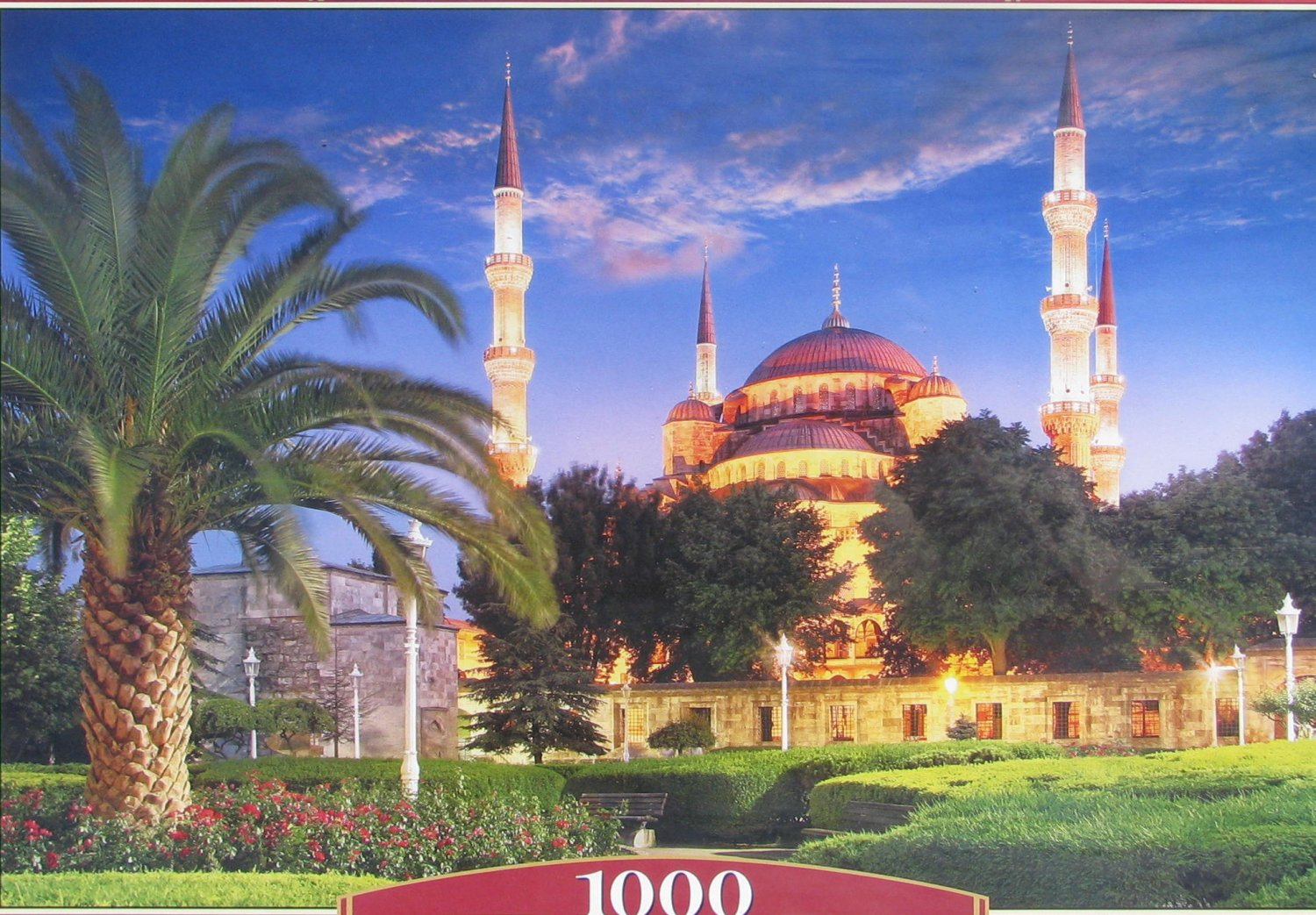 Castorland BLUE MOSQUE TURKEY 1000 pc Jigsaw Puzzle