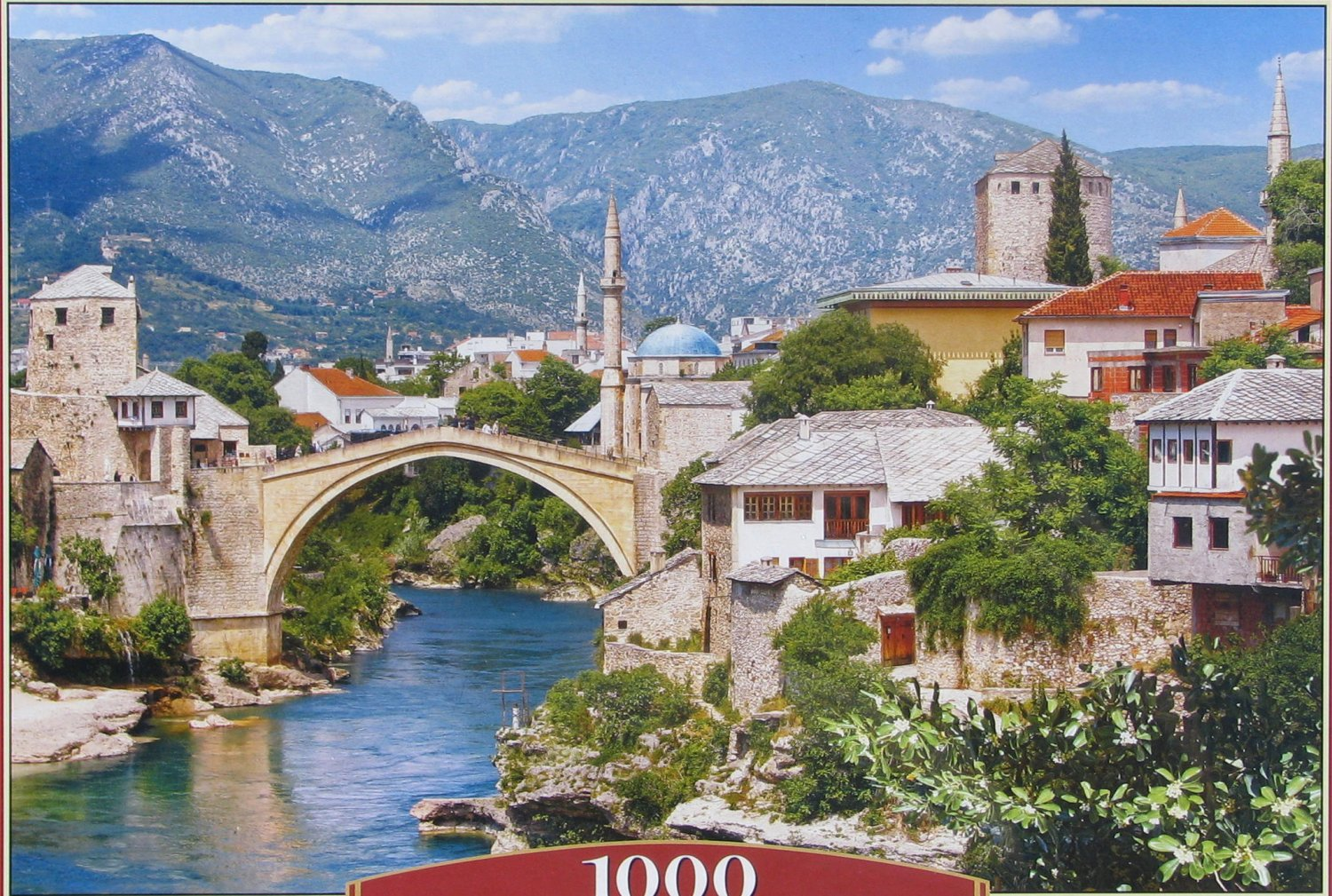 Castorland MOSTAR BOSNIA AND HERZEGOVINA 1000 pc Jigsaw Puzzle
