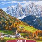Castorland CHURCH OF ST MAGDALENA DOLOMITES 2000 pc Jigsaw Puzzle