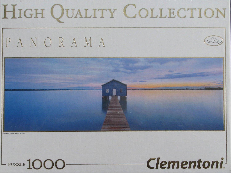 Clemontoni BLUE CALM 1000 pc Panorama Jigsaw Puzzle