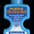 Jigsaw Puzzle Saver Glue Non Toxic SunsOut 4 Fluid Ounces Covers 2 1000 PC Puzzles FS