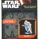 Metal Earth Star Wars Collection 4 Lot of 4 Models Snowspeeder Slave 1 AT-ST Imperial Shuttle