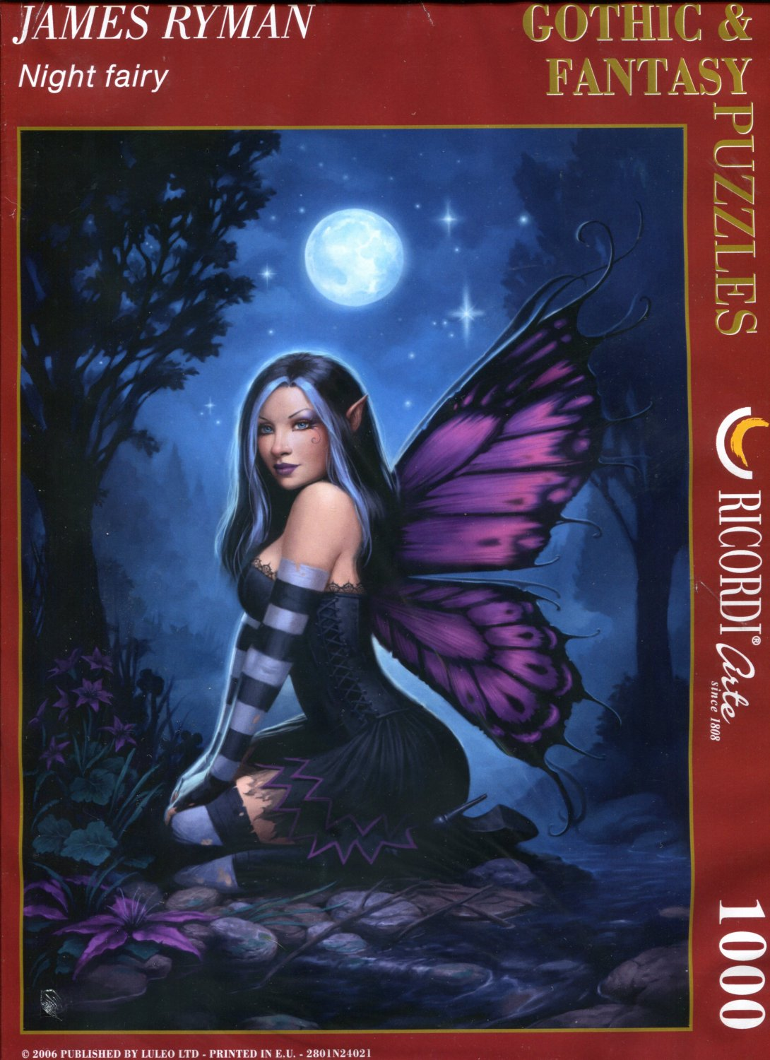 Ricordi James Ryman NIGHT FAIRY 1000 pc Jigsaw Puzzle
