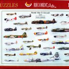 Ricordi WORLD WAR II AIRCRAFT 1000 pc Jigsaw Puzzle Oversized