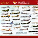 Ricordi MODERN WARPLANES 1000 pc Jigsaw Puzzle Oversized