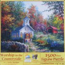 SunsOut Nicky Boehme WORSHIP IN THE COUNTRYSIDE 1500 pc Jigsaw Puzzle